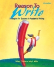 Reason to Write Intermediate: Strategies for Success in Academic Writing Reason to Write 2 Cover Image