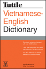 Tuttle Vietnamese-English Dictionary Cover Image