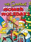 The Simpsons Homer for the Holidays Cover Image