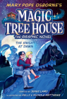 The Knight at Dawn Graphic Novel (Magic Tree House (R) #2) Cover Image