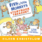 Five Little Monkeys Storybook Treasury Cover Image