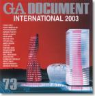 GA Document 73 - International 2003 Cover Image