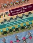 Stunning Stitches for Crazy Quilts: 480 Embroidered Seam Designs, 36 Stitch-Template Designs for Perfect Placement Cover Image
