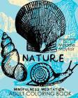 Nature Mindfulness Meditation Adult Coloring Book Cover Image