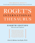 Roget's International Thesaurus, 8th Edition Cover Image