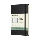 Moleskine 2022  Weekly Planner, 12M, Pocket, Black, Hard Cover (3.5 x 5.5) Cover Image