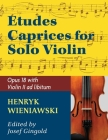 Wieniawski Henryk Etudes Caprices, Op. 18 Violin solo with optional 2nd Violin part - Josef Gingold Cover Image