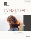 Bible Studies for Life: Living by Faith - Bible Study Book Cover Image