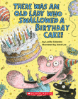 There Was an Old Lady Who Swallowed a Birthday Cake: A Board Book Cover Image