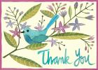 Avian Friends Parcel Thank You Notes Cover Image
