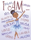 I Am: Positive Affirmations - Coloring Book for Young Black Girls - African American Children Books Cover Image
