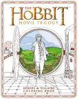 The Hobbit Movie Trilogy: Heroes and Villains Coloring Book Cover Image