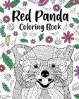 Red Panda Coloring Book Cover Image