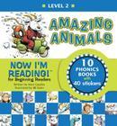 Now I'm Reading! Level 2: Amazing Animals (NIR! Leveled Readers) Cover Image