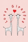 Lover Giraffes: Valentine's Day Gift - ToDo Notebook in a cute Design - 6