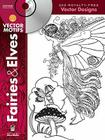 Fairies & Elves Vector Motifs [With CDROM] (Dover Electronic Clip Art) Cover Image