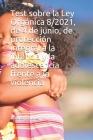 Test sobre la Ley Orgánica 8/2021, de 4 de junio, de protección integral a la infancia y la adolescencia frente a la violencia Cover Image