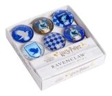 Harry Potter: Ravenclaw Glass Magnet Set (Set of 6) Cover Image