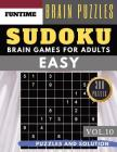 Sudoku Easy: Jumbo 300 easy SUDOKU with answers Brain Game Puzzles Books for Beginners (sudoku book easy Vol.10) Cover Image
