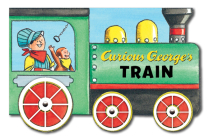 Curious George's Train (mini movers shaped board books) Cover Image