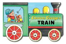 Curious George's Train (mini movers shaped board books) Cover Image