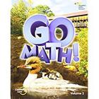 Student Edition Volume 2 Grade 2 2015 (Go Math!) Cover Image