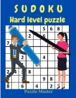 Sudoku Hard Level Puzzle - Relax and Solve Hard Sudoku with Solutions at the End of The Book Cover Image