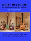PARTY MIX SOUND. String Instruments and Rare Box Guitars. Art, Design, and Sound. 14 Posters. Special Edition. Cover Image