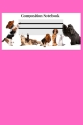 Composition Notebook: Pink Animal Lovers Composition Notebook; Perfect gift for Cat Lovers and Dog Lovers; 6x9inch 108-wide lines Pages Cover Image