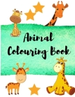 Animal Coloring Book: Giraffe Coloring Book For Kids - Relaxation Coloring Books for Kids or Adults - Draw and Color Animals Books - Beautif Cover Image