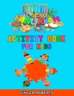 Hanukkah Activity Book for Kids: A Jewish Chanukah Gift for Children, Perfect for the Holiday! A Creative Workbook with Dot to Dot, Coloring, Cut and Cover Image