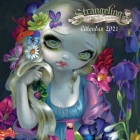 Strangeling - Jasmine Becket-Griffith Mini Wall calendar 2021 (Art Calendar) Cover Image