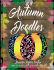 Autumn Doodles Coloring Book Cover Image