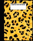 Composition Notebook: notebook for girl who loves leopards cute gifts for leopard lovers. Cover Image