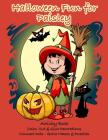 Halloween Fun for Paisley Activity Book: Color, Cut & Glue Decorations - Connect Dots - Solve Mazes & Puzzles Cover Image