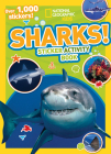 National Geographic Kids Sharks Sticker Activity Book: Over 1,000 Stickers! (NG Sticker Activity Books) Cover Image
