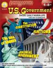 Jumpstarters for U.S. Government, Grades 4 - 8 Cover Image