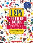 I Spy Sticker Book and Picture Riddles Cover Image