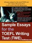 Sample Essays for the TOEFL Writing Test (Twe) Cover Image