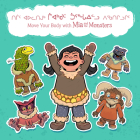 Move Your Body with MIA and the Monsters: Bilingual Inuktitut and English Edition Cover Image