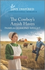 The Cowboy's Amish Haven: An Uplifting Inspirational Romance Cover Image