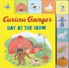 Curious George's Day at the Farm (tabbed lift-the-flap) Cover Image