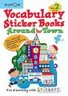 Vocabulary Sticker Books Around Town Cover Image