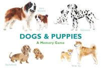 Dogs & Puppies: A Memory Game Cover Image