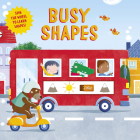 Busy Shapes: Spin the Wheel to Learn Shapes! (Clever Wheels) Cover Image