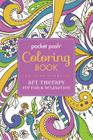 Pocket Posh Adult Coloring Book: Art Therapy for Fun & Relaxation (Pocket Posh Coloring Books #1) Cover Image