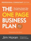 The One Page Business Plan Professional Consultant Edition Cover Image