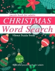 Christmas word search puzzle book for adults.: Word find puzzle books for adults Cover Image