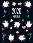Pinguin Planer 2020: Agenda Planer 2020: Top organisiert durchs Jahr! - Planer Kalender 2020 mit Wochenansicht - Einfacher Überblick über d Cover Image