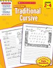 Scholastic Success With Traditional Cursive: Grades 2–4 Workbook Cover Image
